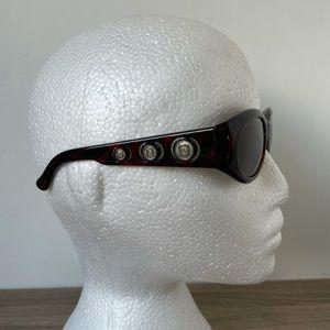 Fendi Sunglasses FF Logo Vintage SL 7525 U30 Brown